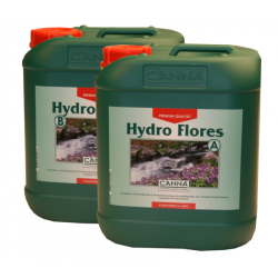 Canna Hydro Flores A&B  2 x 5 Liter Blüte