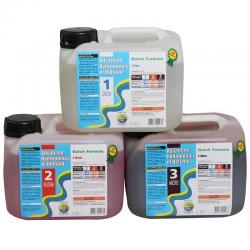 Advanced Hydroponics Set Grow, Bloom, Micro je 5 Liter