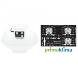 Prima Klima EC Ventilator 160mm 1180m³/h Temp./ Speed...