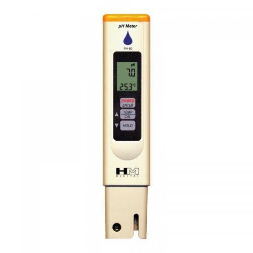 PH Messgerät HM Digital PH-80 Wasserdicht mit Temperatur